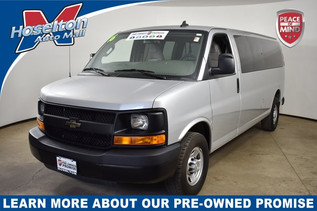 Pre-Owned 2016 Chevrolet Express 3500 LS RWD Extended Passenger Van