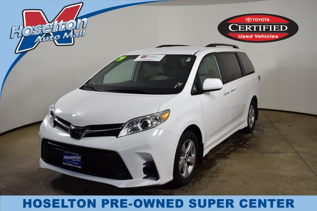 Toyota Dealers Rochester Ny >> Certified Pre Owned 2019 Toyota Sienna Le Fwd 4d Passenger Van